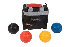 12oz Composite Croquet Balls - Set of 4 Ubergames