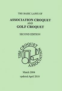 Basic Laws of Croquet