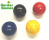 Lawn Croquet Balls - Set of 4