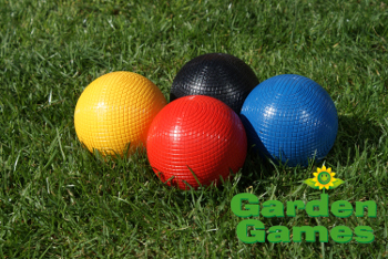 Garden Games 12oz Composite Croquet Balls - Set of 4
