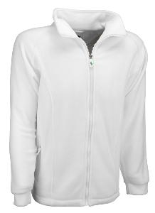 White Fleece Jacket