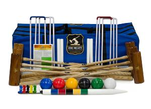 George Wood Garden 6-player Croquet Set