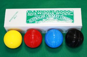 Dawson International 16oz Croquet Balls - set of 4