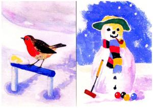 Croquet Christmas Cards