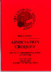 Laws of Association Croquet