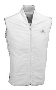 White Fleece Reversible Gilet