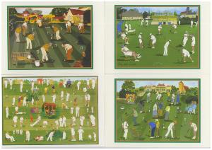 Croquet Cards (pack of 4)