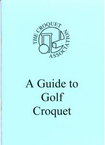 Guide to Golf Croquet