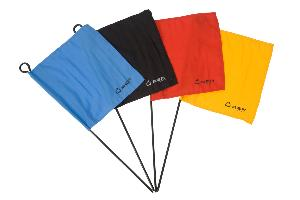 Croquet Corner Flags -Set of 4 Ubergames