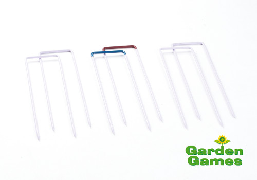 Cottage Croquet Hoops - Garden Games - Set of 6