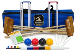 George Wood Garden Croquet Set