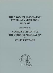 Croquet Association Centenary Yearbook