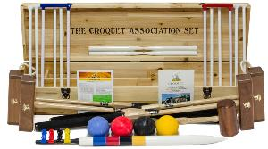 George Wood Association Croquet Set