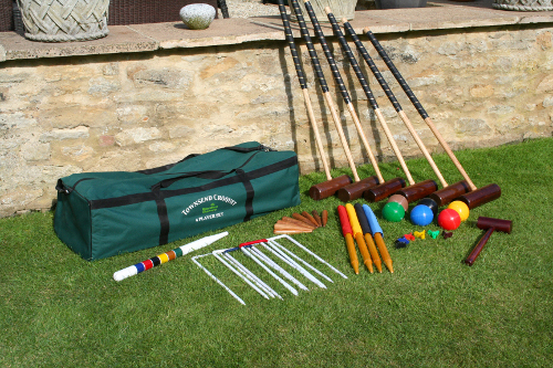 Townsend 6-Player Croquet Set - Garden Games