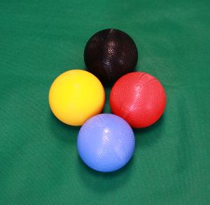 Sunshiny Tournament 16oz Croquet Balls - Set of 4